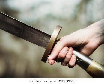 samurai sword in hand 2