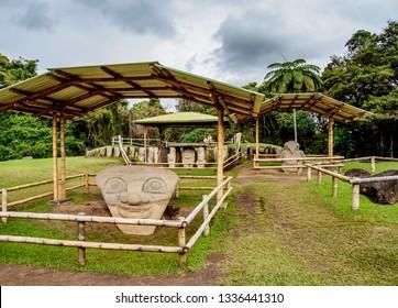 San Agustin Archaeological Park, Huila Department, Colombia