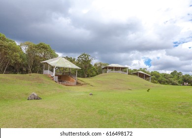 San Agustin archeological park UNESCO WORLD HERITAGE of Colombia
