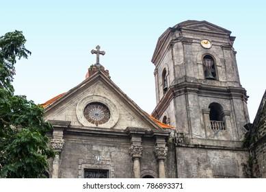 San Agustin Church in Intramuros, Manila, Philippines