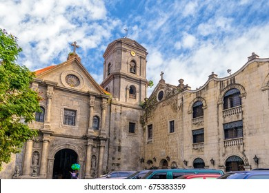 San Agustin Church, a Roman Catholic church under the auspices of The Order of St. Augustine