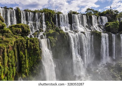 San Andres at Iguazu Falls, one of the New Seven Wonders of Nature, Argentina