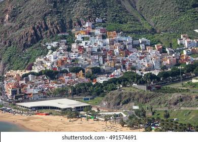 San Andres village near Santa Cruz De Tenerife. Located near teresitas beach.