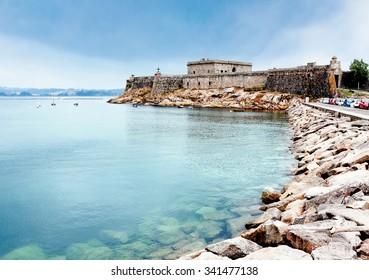 San Anton castle, A Coruna, Galicia, Spain