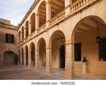 San Anton Palace (residence of president) at Attard. Malta