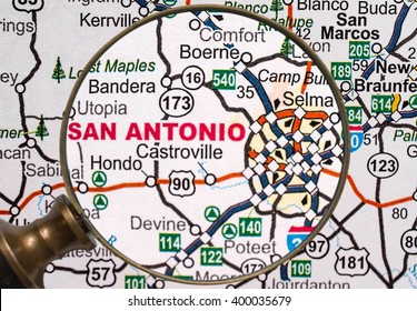 San Antonio Map Images, Stock Photos & Vectors | Shutterstock
