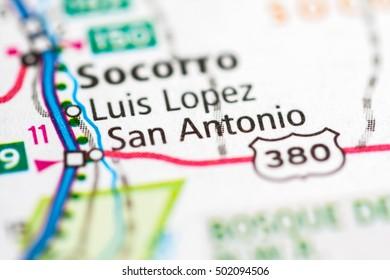San Antonio. New Mexico. USA.
