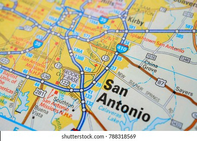 Map City San Antonio Images, Stock Photos & Vectors | Shutterstock City Of San Antonio Map on