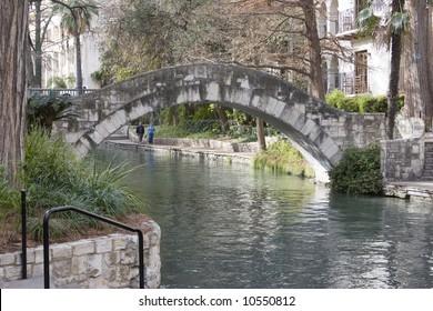 San Antonio River Walk Bridge
