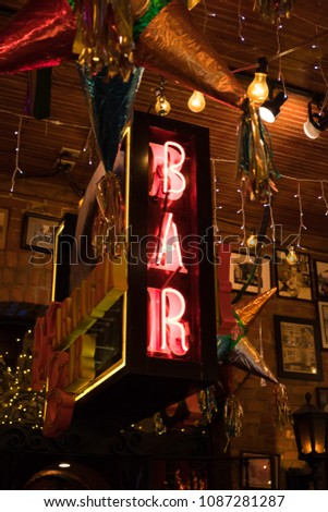 San Antonio, Texas - April 18, 2018: Mi Tierra Cafe and Bakery located in downtown San Antonio Texas.