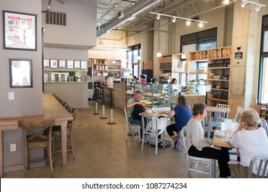 San Antonio, Texas - April 19, 2018: Bakery Lorraine has been voted in the top 10 bakeries in the U.S. year after year for the last decade.