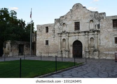 san antonio, texas united states september 27 2019 the alamo mission in san antonio