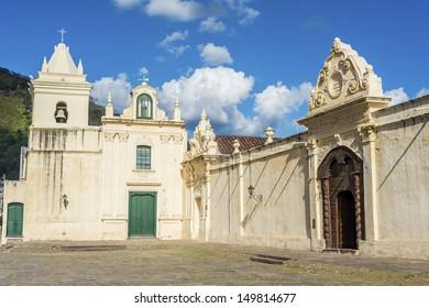 San Bernardo convent facade in Salta, Argentina