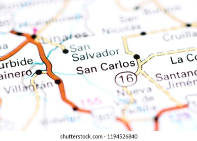 San Carlos Map Images, Stock Photos & Vectors | Shutterstock