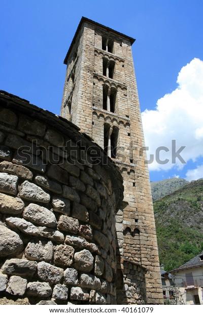 San Clemente De Tahull Romanesque Chapel Stock Photo Edit Now 40161079