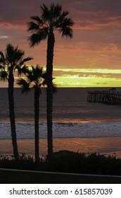 San Clemente sunset vertical 2
