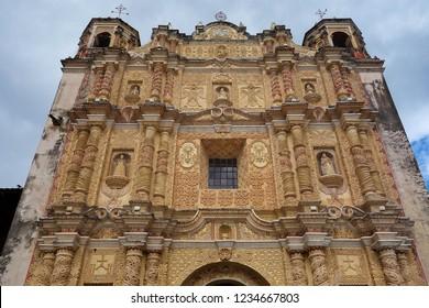 San Cristobal de las Casas - Santo Domingo Church. Mexico.