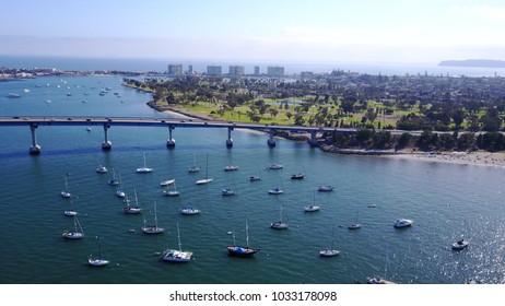 San Diego Bay - Coronado Bridge