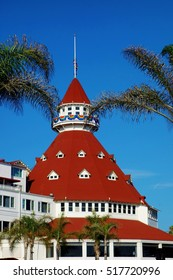 SAN DIEGO, CA -15 JULY 2016- Opened in 1888, the landmark Victorian resort Hotel del Coronado on the Southern California coast was purchased in 2016 by the Chinese company Anbang Insurance Group.