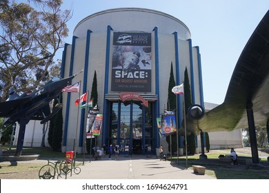 San Diego, CA 2/24/2019 The San Diego Air and Space Museum at Balboa Park