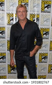 San Diego, CA - July 18, 2019:  William Zabka of Cobra Kai arrives at Comic Con 2019 in San Diego, CA.