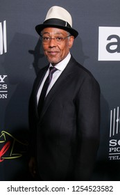 """San Diego, CA - July 19, 2018: Giancarlo Esposito (Gustavo """"Gus"""" Fring) from AMC's Breaking Bad arrives at Comic Con 2018 in San Diego, CA."""