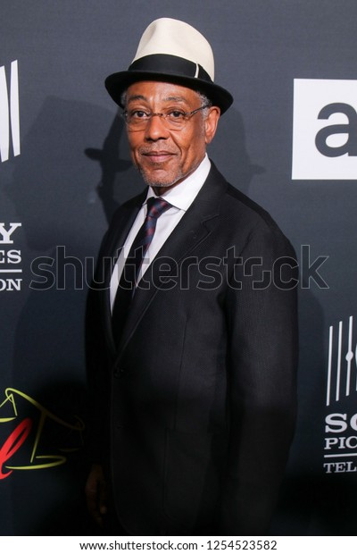 "San Diego, CA - July 19, 2018: Giancarlo Esposito (Gustavo ""Gus"" Fring) from AMC's Breaking Bad arrives at Comic Con 2018 in San Diego, CA."