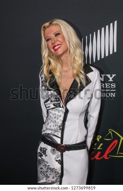 San Diego, CA - July 19, 2018: Tara Reid arrives at the AMC's Better Call Saul Premiere during Comic Con 2018 in San Diego, CA.