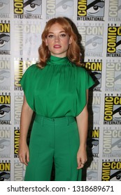 San Diego, CA - July 20, 2018: Jane Levy from Hulu's Castle Rock arrives at Comic Con 2018 in San Diego, CA.