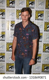 San Diego, CA - July 20, 2018: Bill Skarsgård from Hulu's Castle Rock arrives at Comic Con 2018 in San Diego, CA.