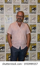 San Diego, CA - July 20, 2019:  Mike O'Malley of TNT's Snowpiercer arrives at Comic Con 2019 in San Diego, CA.