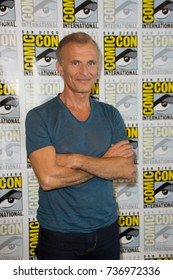 San Diego, CA - July 20, 2017: Richard Sammel of FX's The Strain arrives at Comic Con 2014 in San Diego, CA.