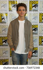 San Diego, CA - July 20, 2017: Max Charles of FX's The Strain arrives at Comic Con 2014 in San Diego, CA.