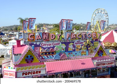 SAN DIEGO, CA -  JULY 2011:  Scene from the San Diego County Fair on July 1, 2011 in San Diego, California. In recent years, attendance figures have risen above a million annually.