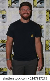 San Diego, CA - July 21, 2018: Stephen Amell of The CW's Arrow arrives at Comic Con 2018 in San Diego, CA.