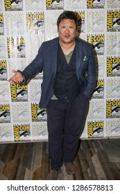 San Diego, CA - July 21, 2018: Benedict Wong from SYFY's Deadly Class arrives at Comic Con 2018 in San Diego, CA.