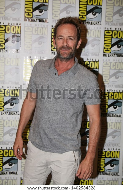 San Diego, CA - July 21, 2018: Luke Perry from The CW's Riverdale arrives at Comic Con 2018 in San Diego, CA.