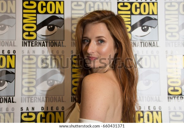 San Diego, CA - July 21, 2016: Grace Gummer of USA's Mr. Robot arrives at Comic Con 2016 in San Diego, CA.