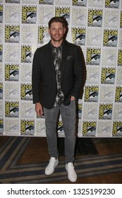 San Diego, CA - July 22, 2018: Jensen Ackles from The CW's Supernatural arrives at Comic Con 2018 in San Diego, CA.