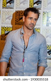 San Diego, CA - July 22, 2011: Collin Farrell arrives at Comic-Con 2011 in San Diego, CA.