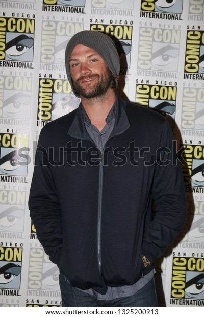 San Diego, CA - July 22, 2018: Jared Padalecki from The CW's Supernatural arrives at Comic Con 2018 in San Diego, CA.