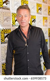 San Diego, CA - July 23, 2016: Sean Pertwee of Warner Bros. Gotham arrives at Comic Con 2016 in San Diego, CA.