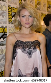 San Diego, CA - July 23, 2016: Erin Richards of Warner Bros. Gotham arrives at Comic Con 2016 in San Diego, CA.