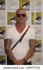 San Diego, CA - July 23, 2016: Dominic Purcell of FOX's Prison Break: Resurrection arrives at Comic Con 2016 in San Diego, CA.