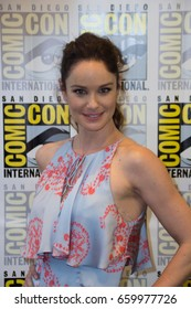 San Diego, CA - July 23, 2016: Sarah Wayne Callies of FOX's Prison Break: Resurrection arrives at Comic Con 2016 in San Diego, CA.