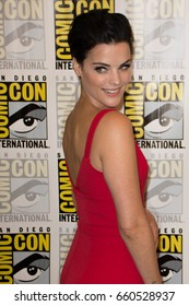 San Diego, CA - July 23, 2016: Jaimie Alexander of NBC's Blindspot arrives at Comic Con 2016 in San Diego, CA.