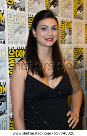 San Diego, CA - July 23, 2016: Morena Baccarin of Warner Bros. Gotham arrives at Comic Con 2016 in San Diego, CA.