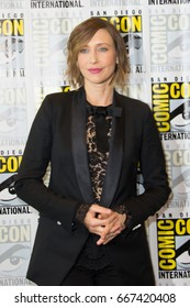 San Diego, CA - July 25, 2014:  Vera Farmiga of The A&E's Bates Motel arrives at Comic Con 2014 in San Diego, CA.