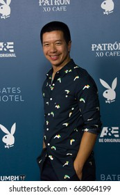 San Diego, CA - July 26, 2014:  Reggie Lee of NBC's Grimm arrives at A&E / Playboy event at Comic Con 2014 in San Diego, CA.
