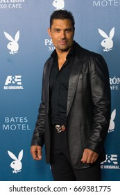 San Diego, CA - July 26, 2014:  Manu Bennett of The CWs Arrow arrives at A&E / Playboy event at Comic Con 2014 in San Diego, CA.